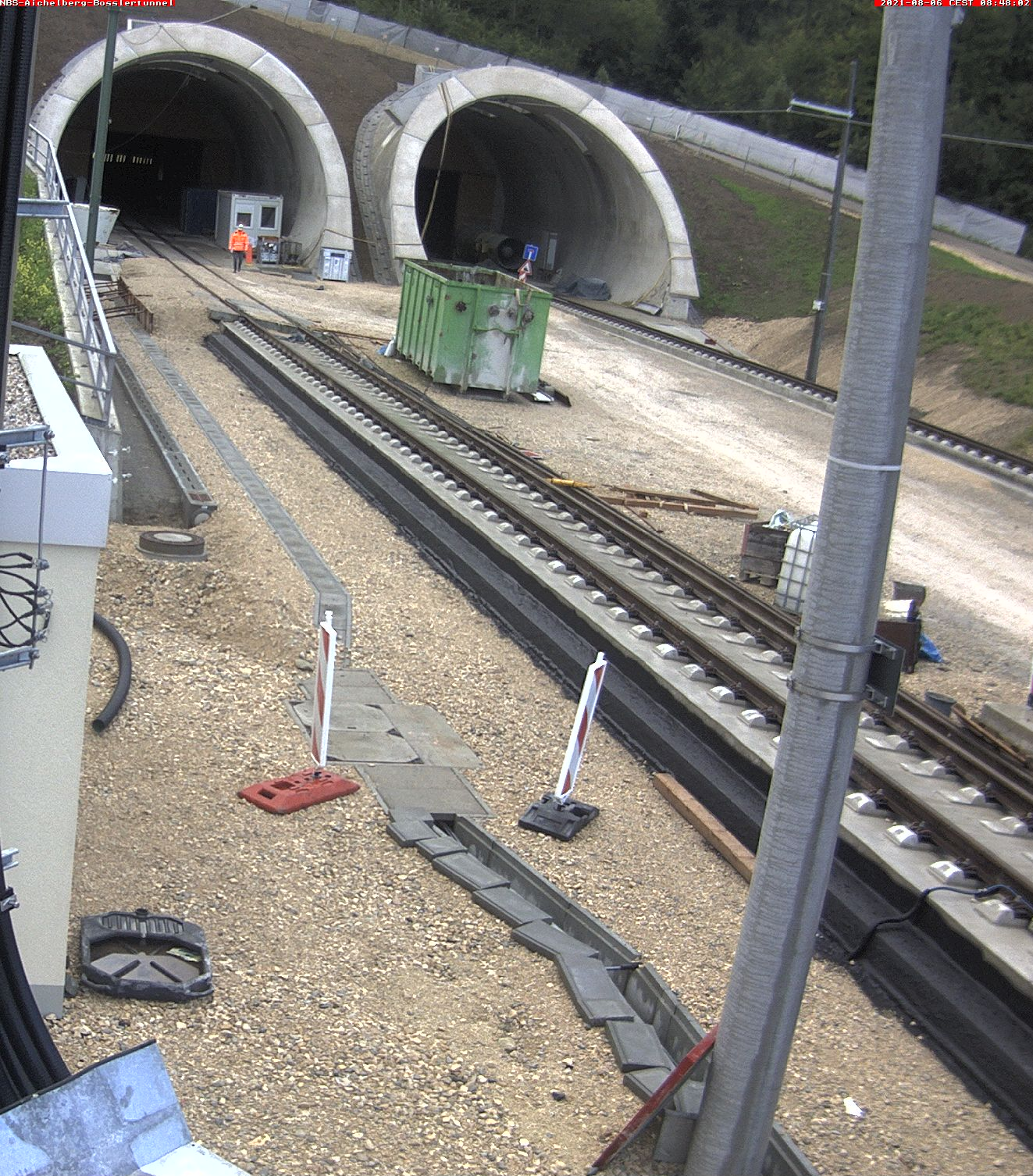 NBS: Aichelberg: Boßlertunnel